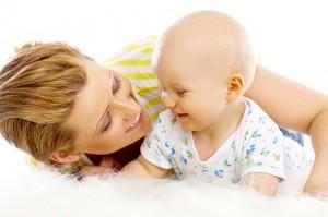 няня и ребенок